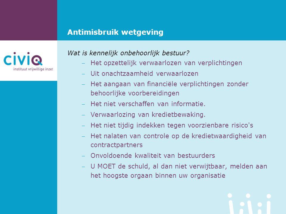 Antimisbruik wetgeving