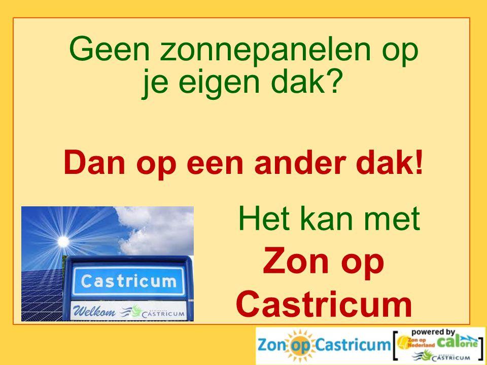 Het kan met Zon op Castricum