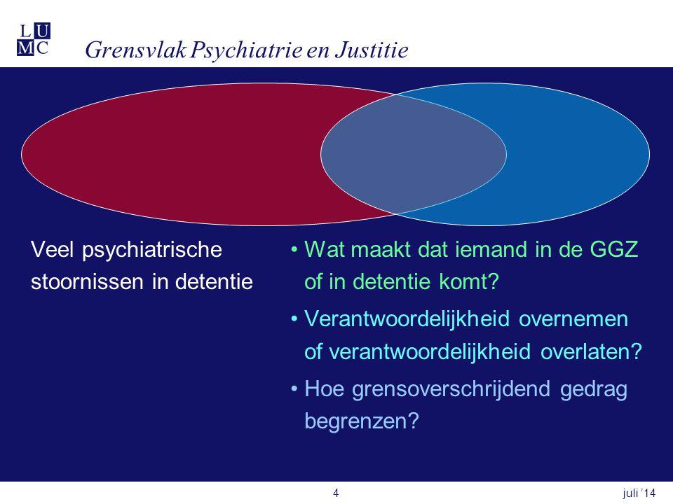 Grensvlak Psychiatrie en Justitie