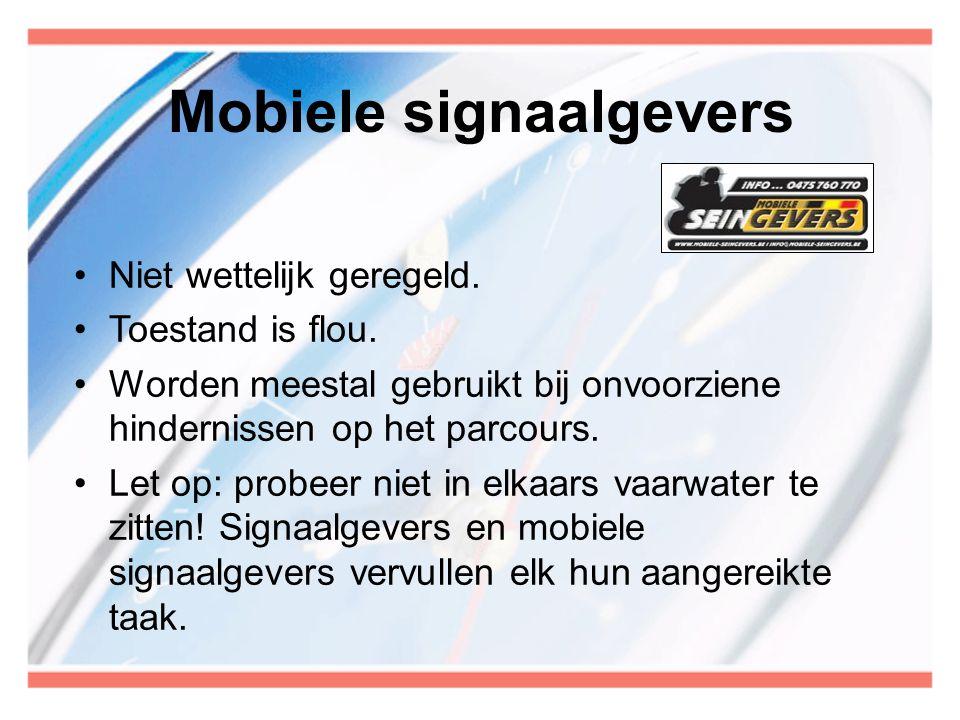 Mobiele signaalgevers