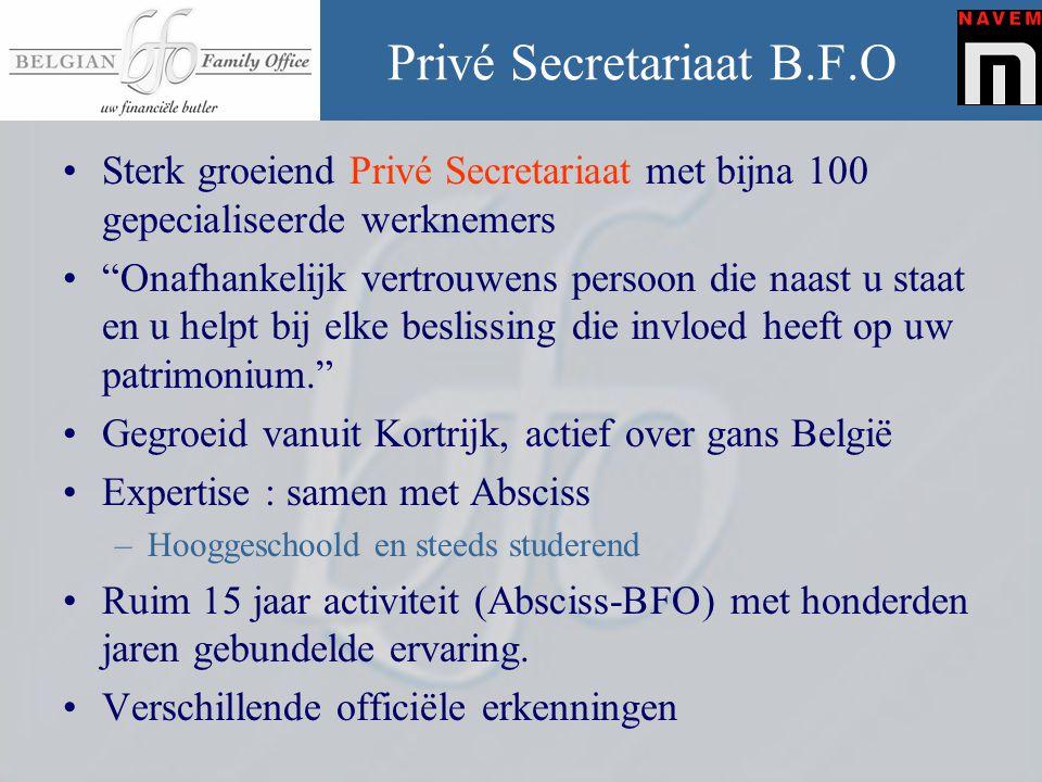 Privé Secretariaat B.F.O
