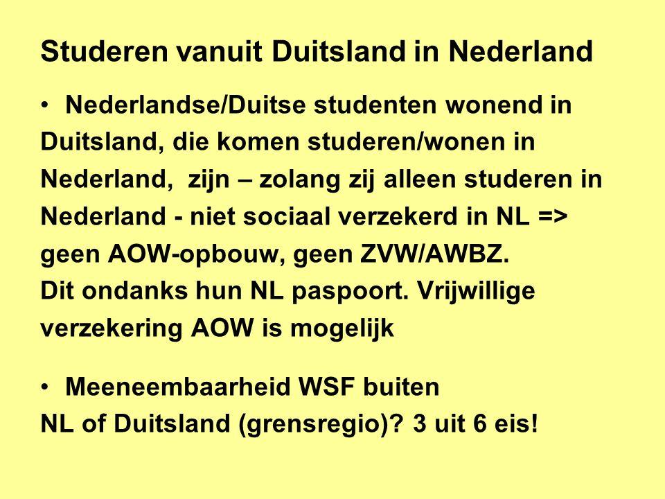 Studeren vanuit Duitsland in Nederland