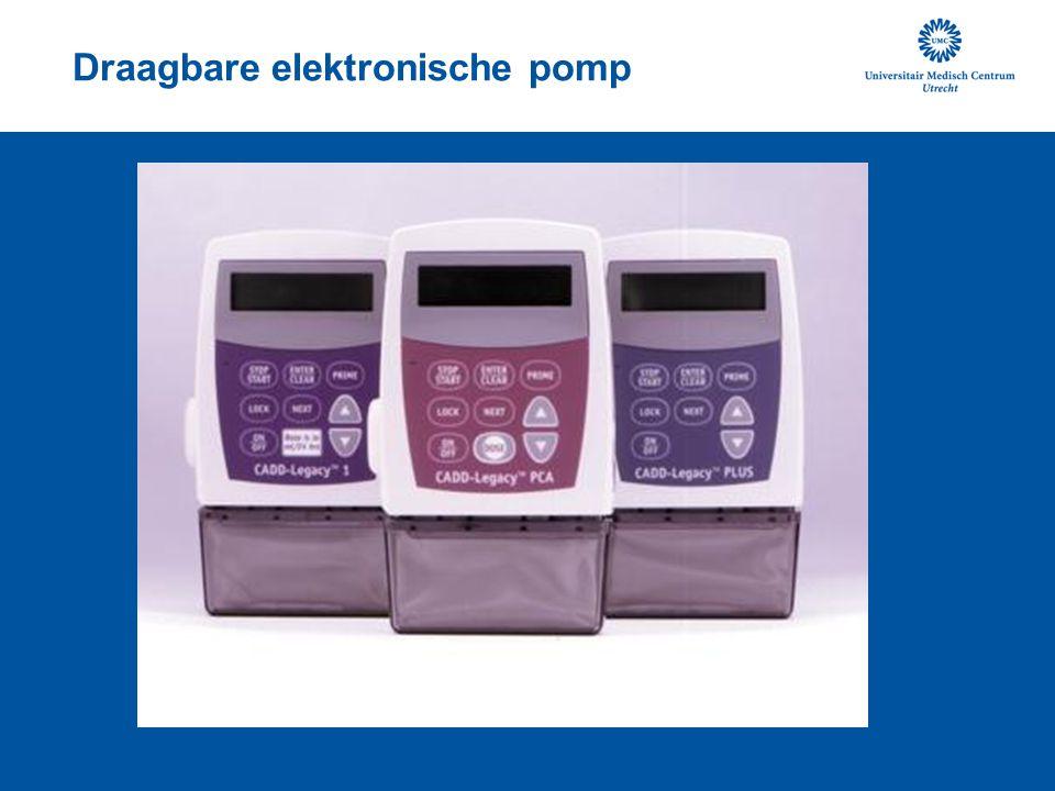 Draagbare elektronische pomp
