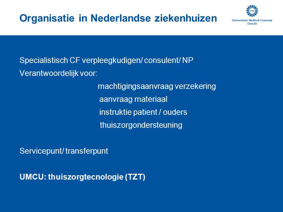 Organisatie in Nederlandse ziekenhuizen