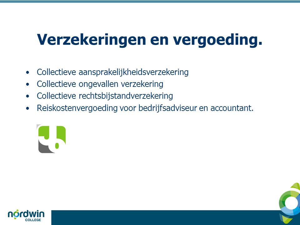 Verzekeringen en vergoeding.