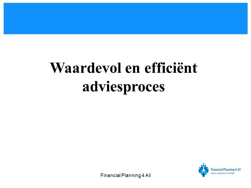 Waardevol en efficiënt adviesproces