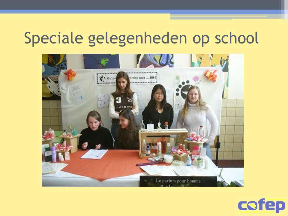 Speciale gelegenheden op school