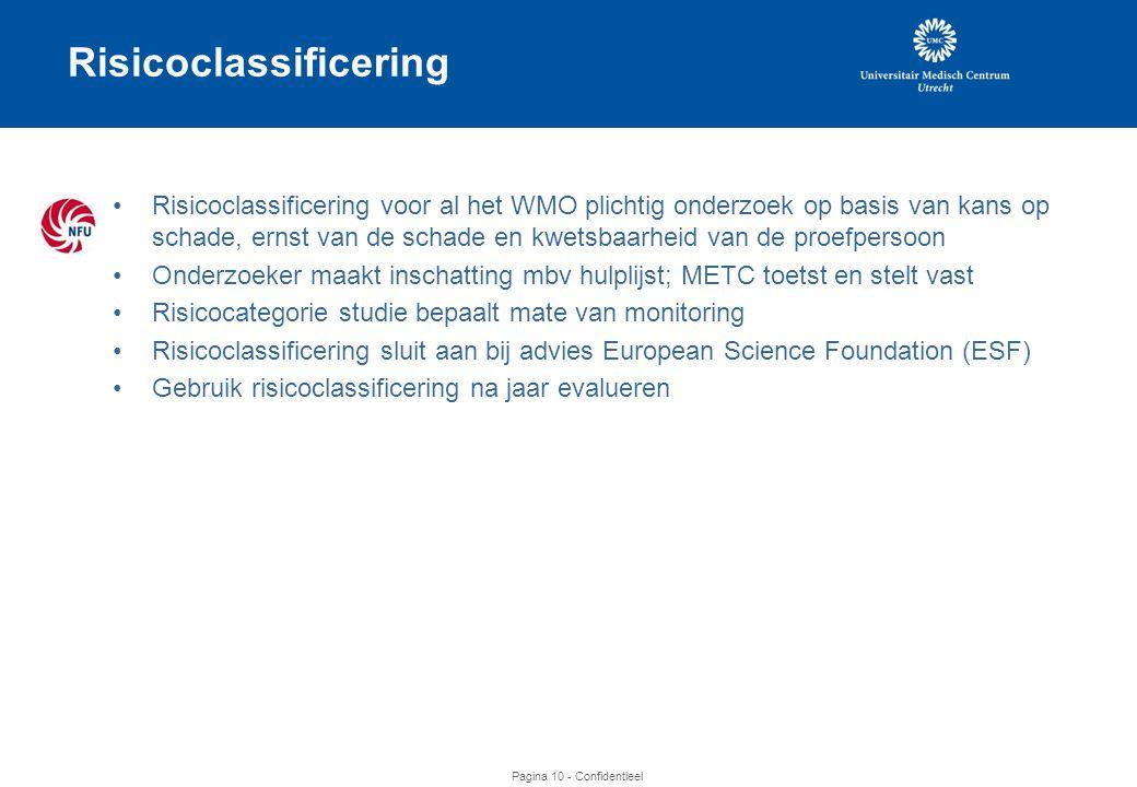 Risicoclassificering