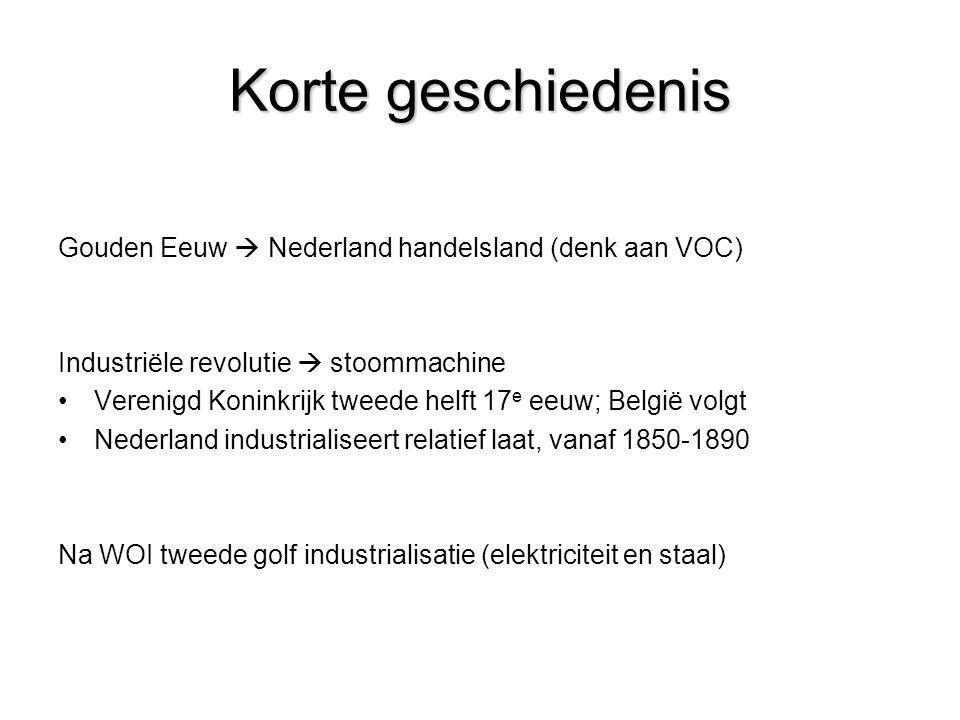 Korte geschiedenis Gouden Eeuw  Nederland handelsland (denk aan VOC)