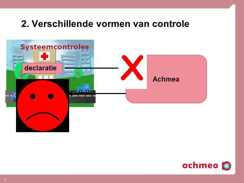 2. Verschillende vormen van controle