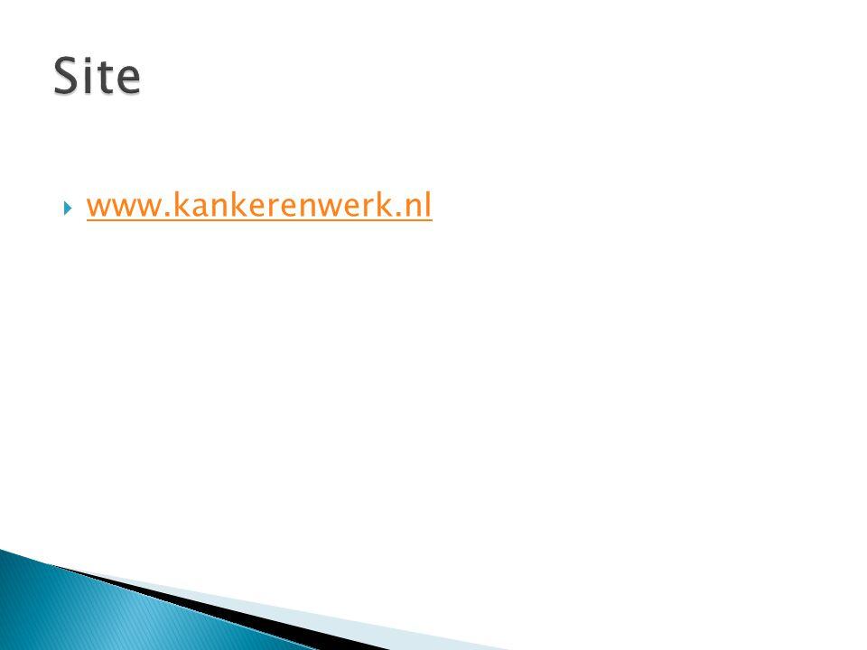 Site www.kankerenwerk.nl