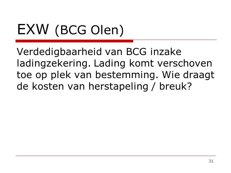 EXW (BCG Olen)