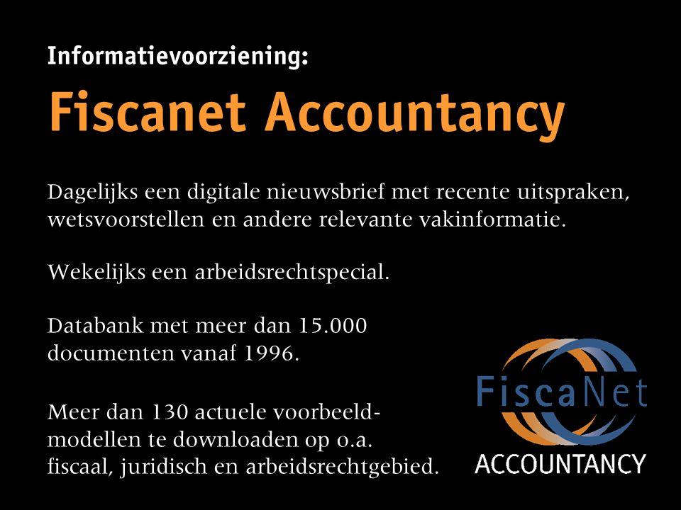 Fiscanet Accountancy Informatievoorziening: