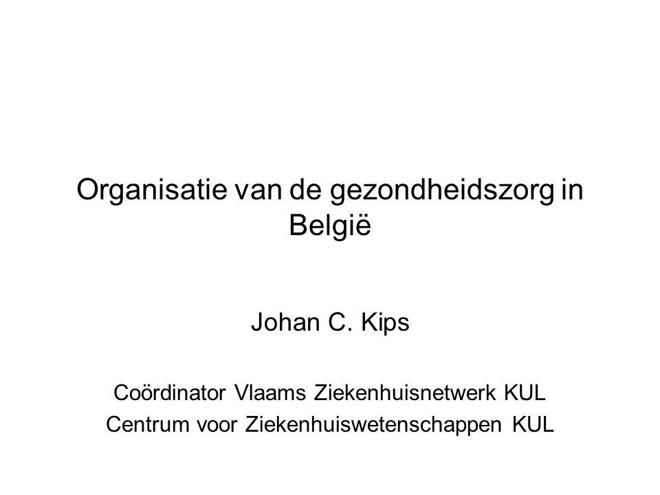 Organisatie van de gezondheidszorg in België