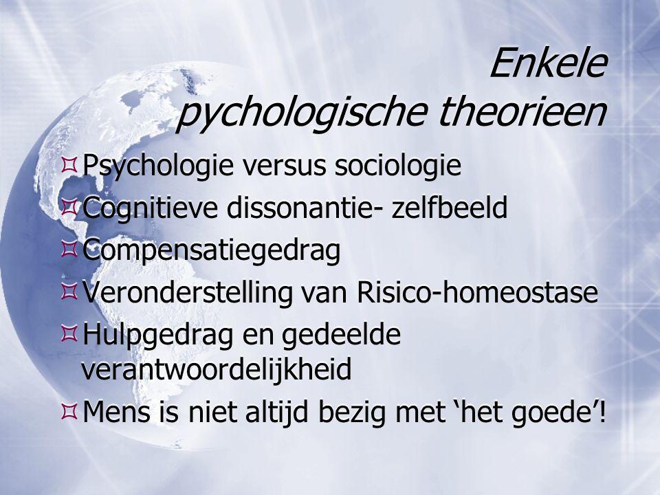 Enkele pychologische theorieen