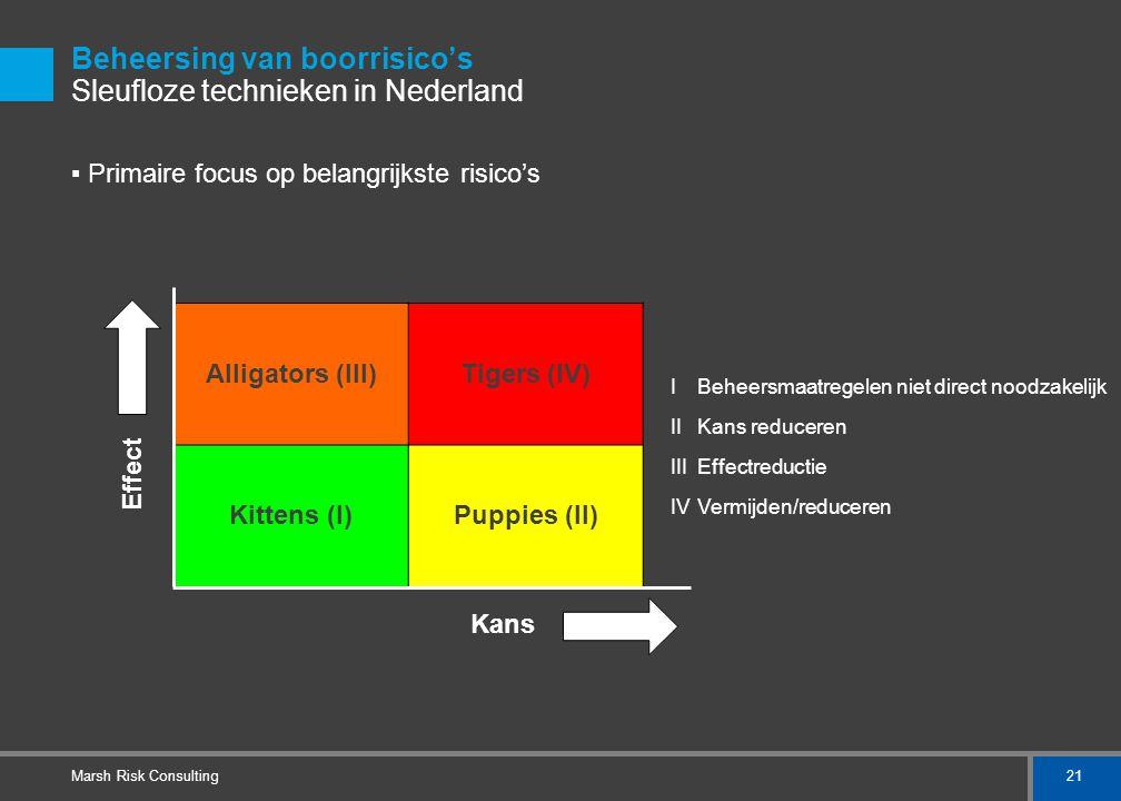 Beheersing van boorrisico's Sleufloze technieken in Nederland