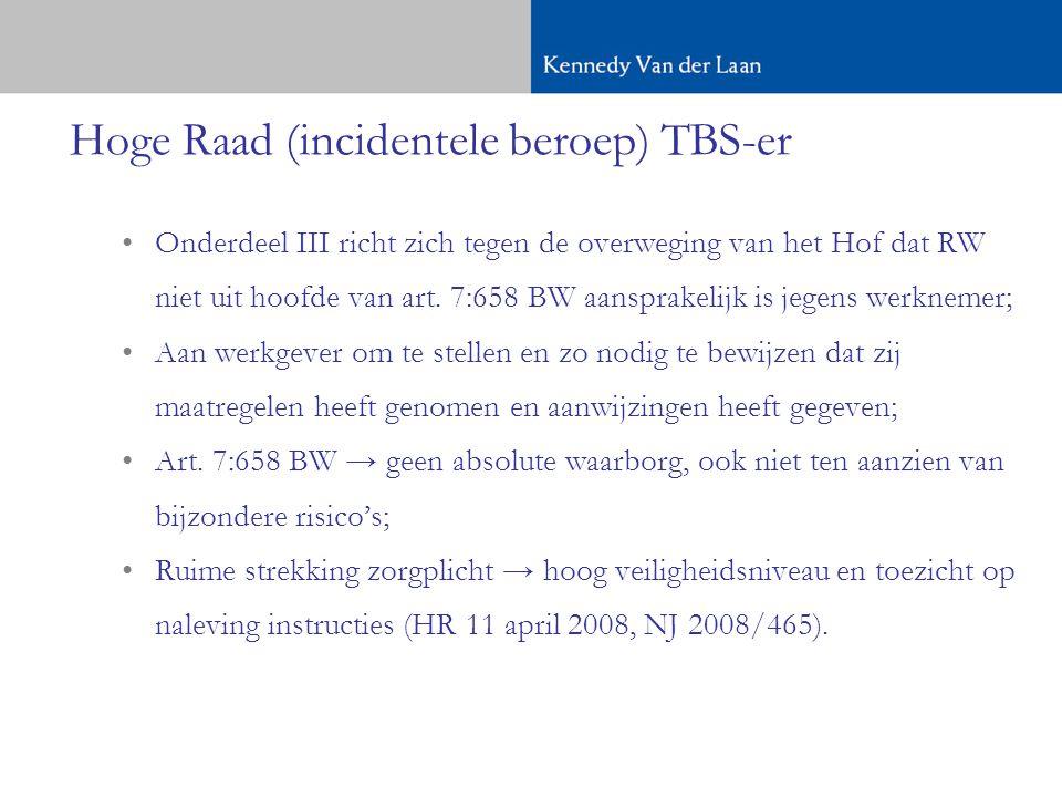 Hoge Raad (incidentele beroep) TBS-er