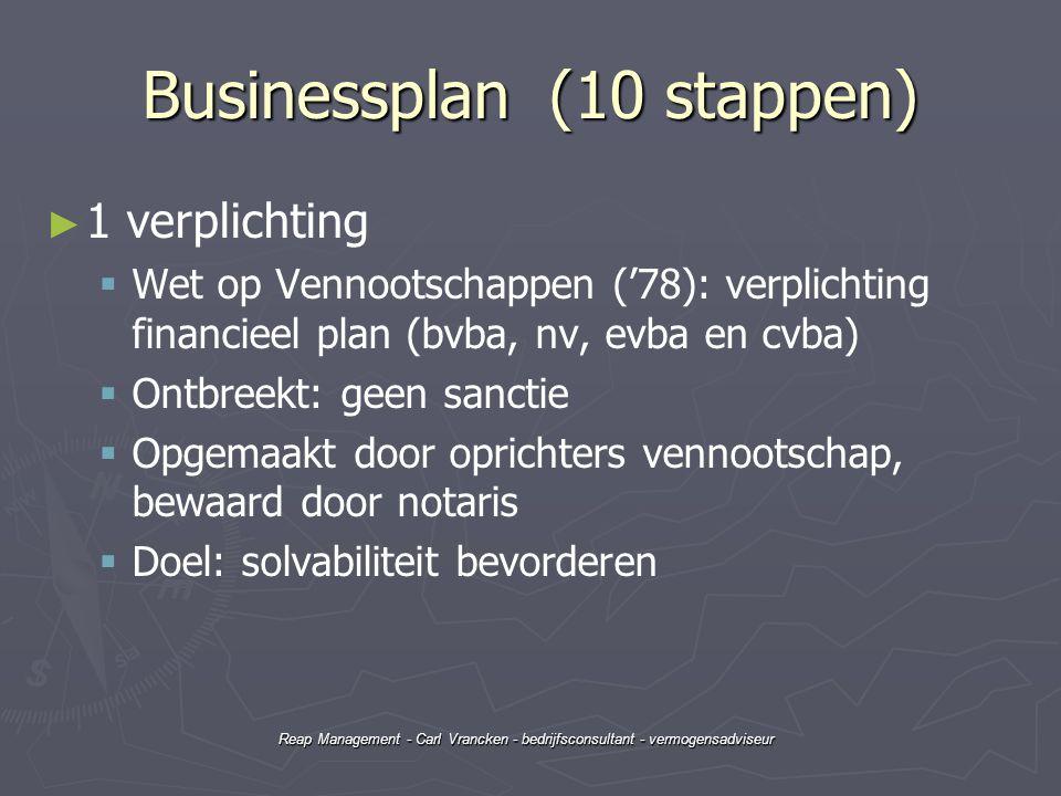 Businessplan (10 stappen)