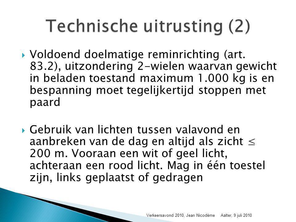 Technische uitrusting (2)