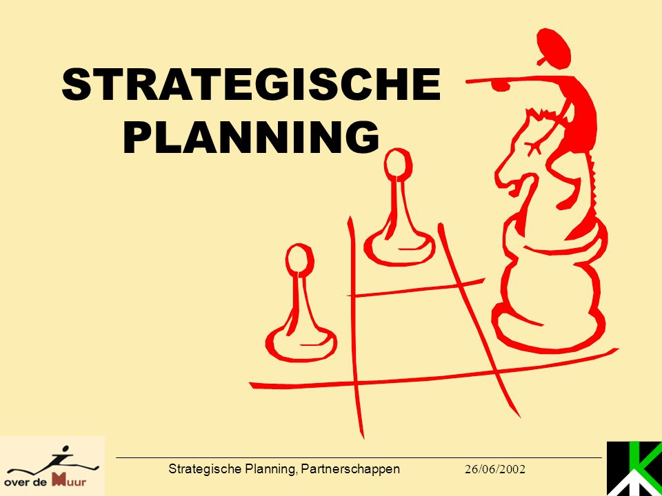 STRATEGISCHE PLANNING