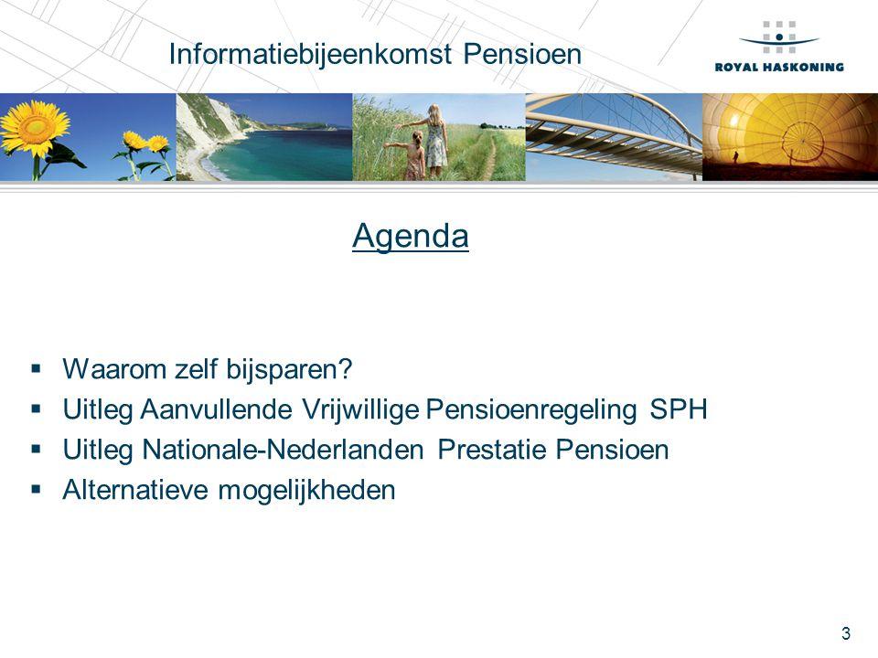 Informatiebijeenkomst Pensioen