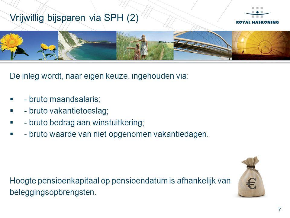 Vrijwillig bijsparen via SPH (2)