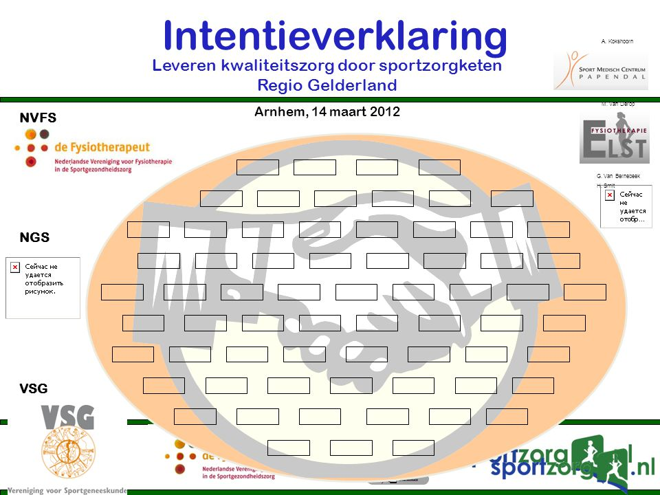 Leveren kwaliteitszorg door sportzorgketen Regio Gelderland