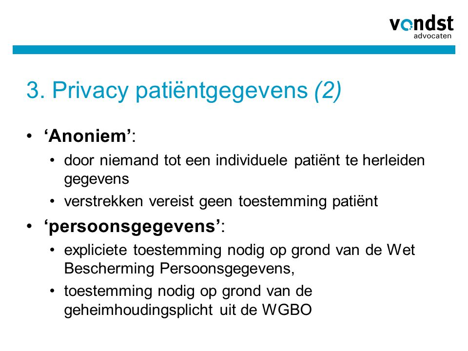 3. Privacy patiëntgegevens (2)