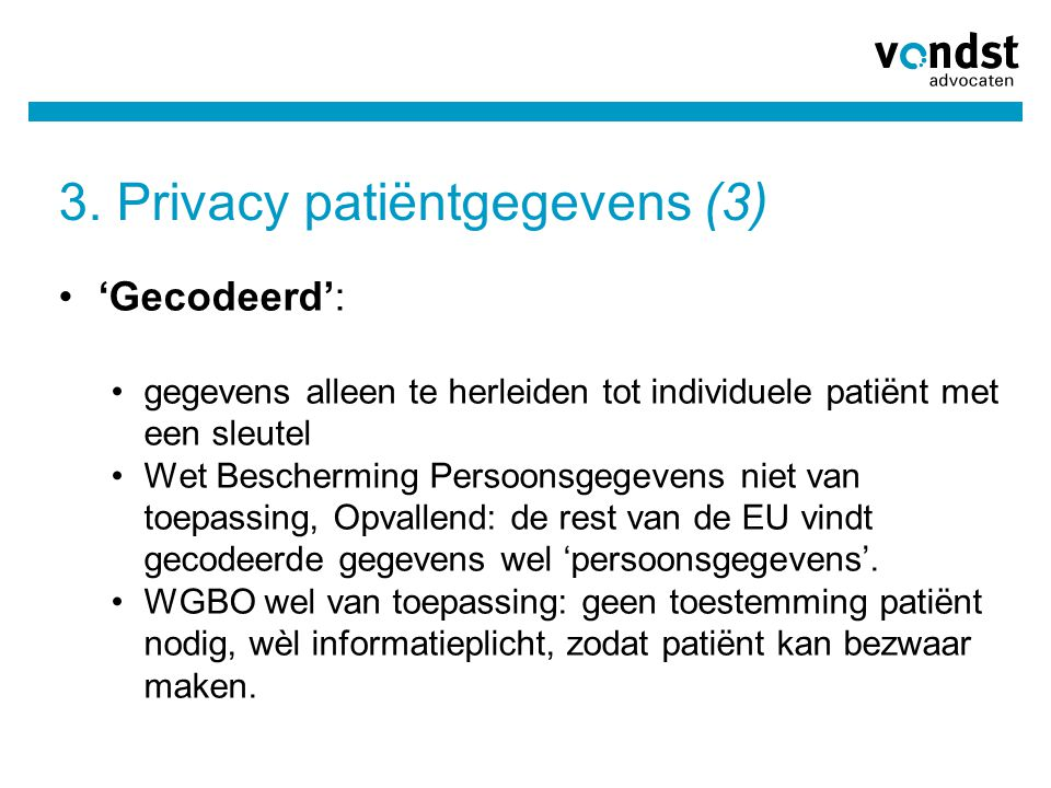 3. Privacy patiëntgegevens (3)