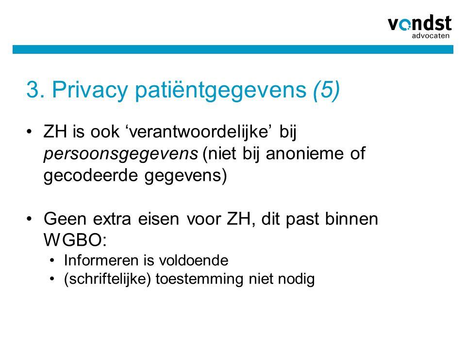 3. Privacy patiëntgegevens (5)