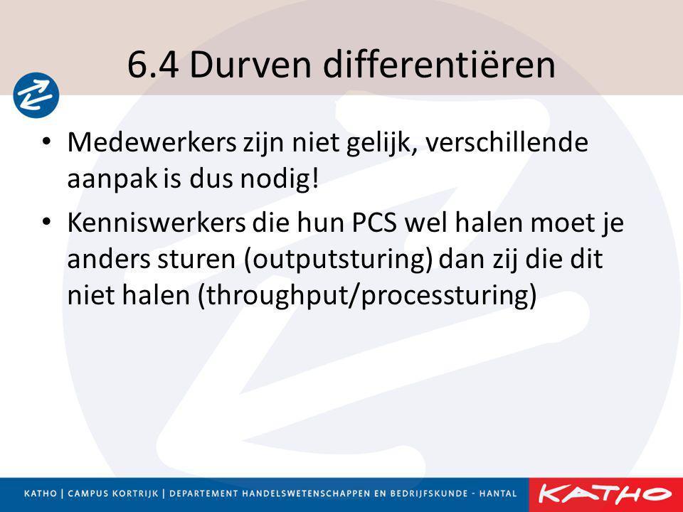 6.4 Durven differentiëren