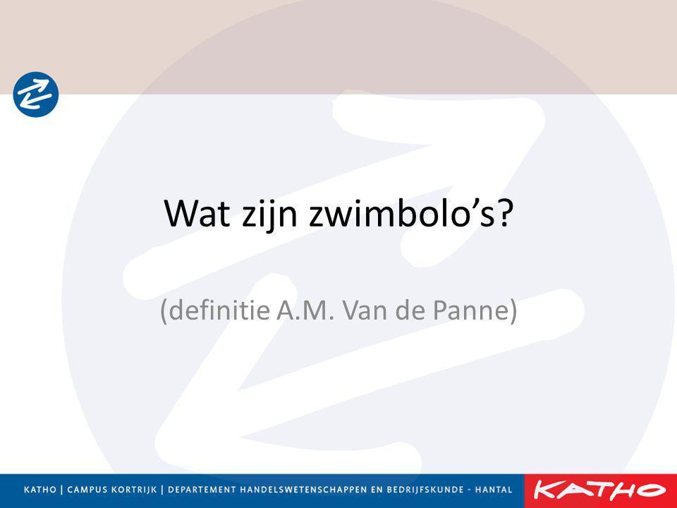 (definitie A.M. Van de Panne)