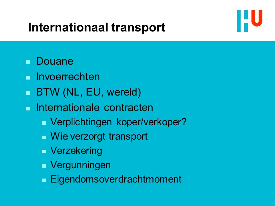 Internationaal transport