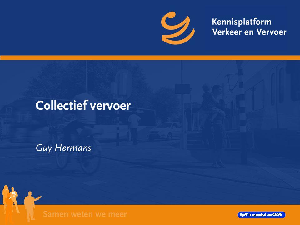Collectief vervoer Guy Hermans