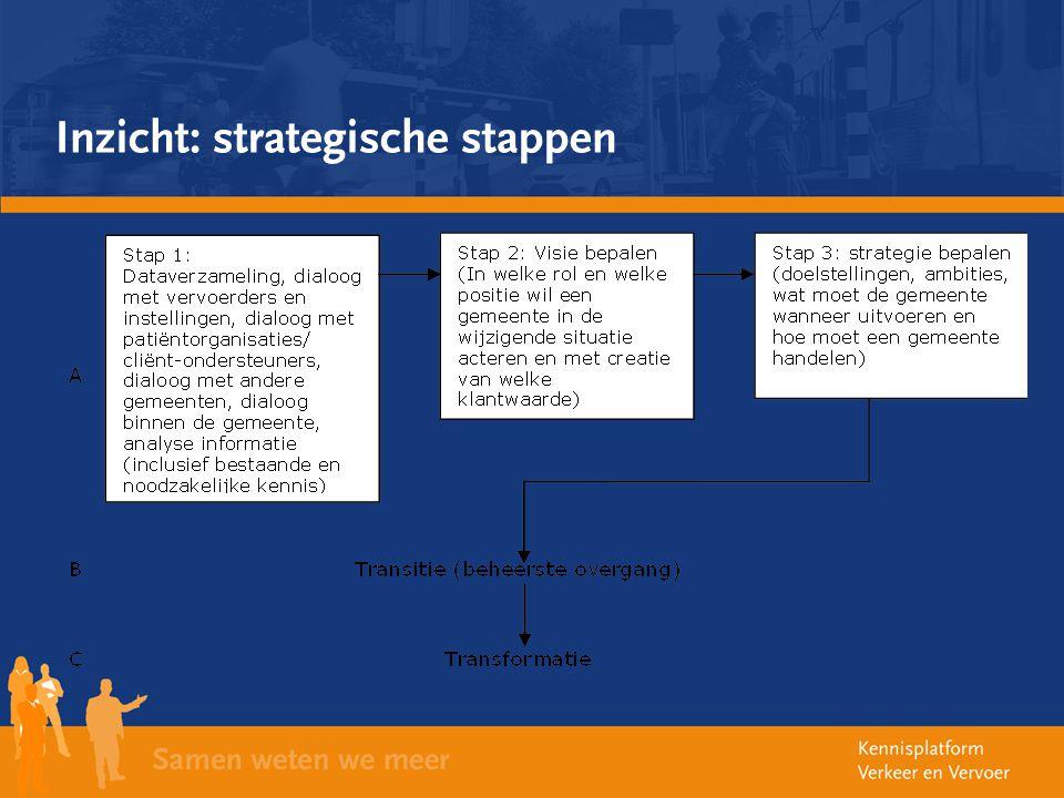 Inzicht: strategische stappen