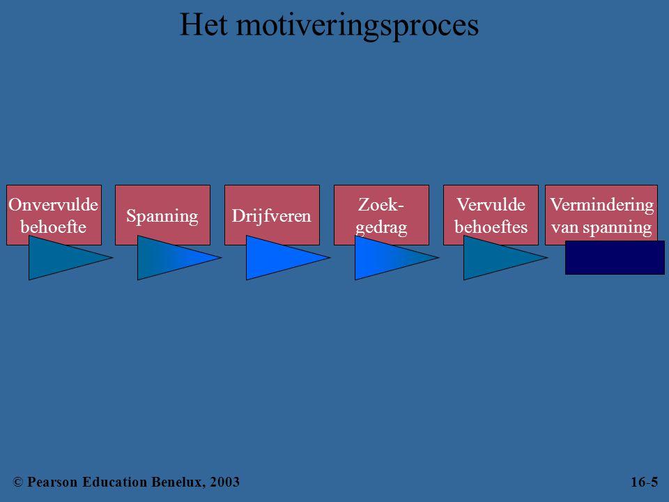 Het motiveringsproces