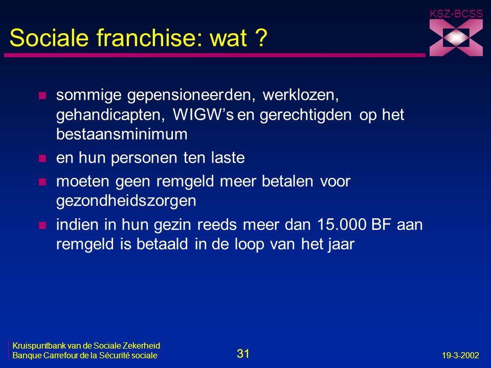 Sociale franchise: wat