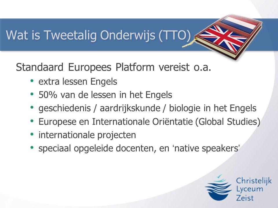 Wat is Tweetalig Onderwijs (TTO)
