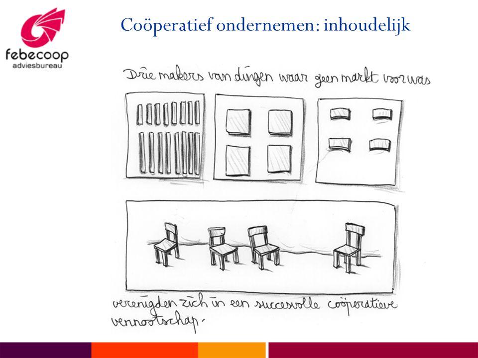 Coöperatief ondernemen: inhoudelijk