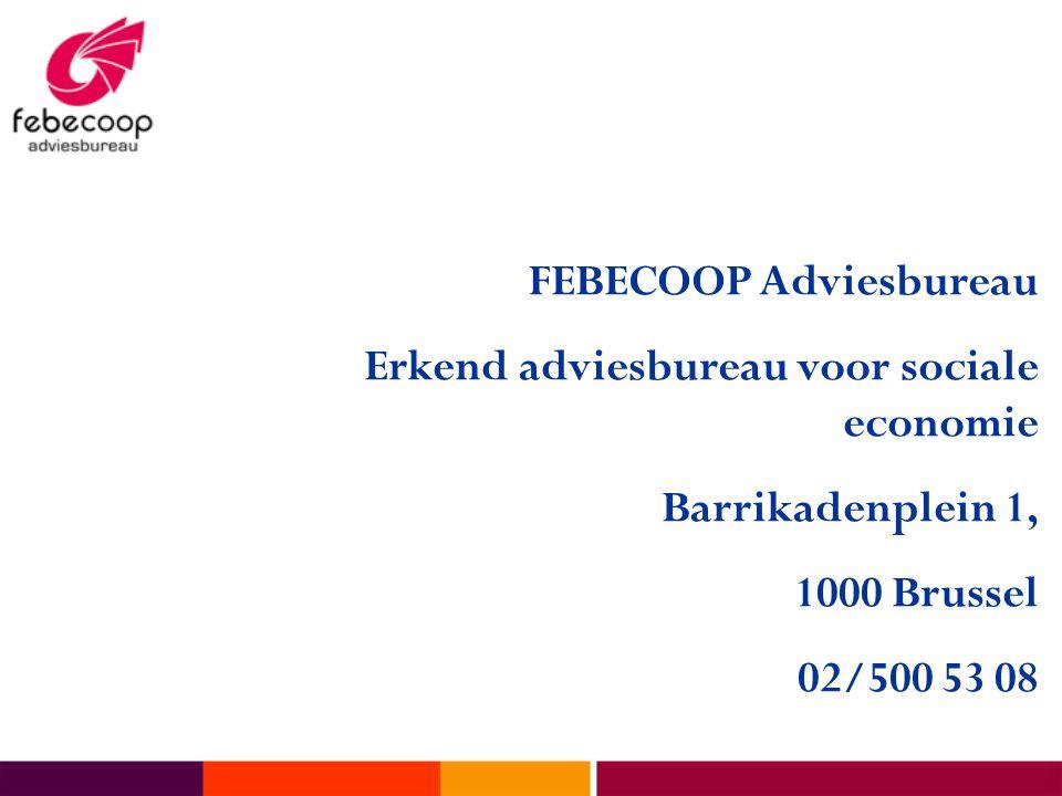 FEBECOOP Adviesbureau