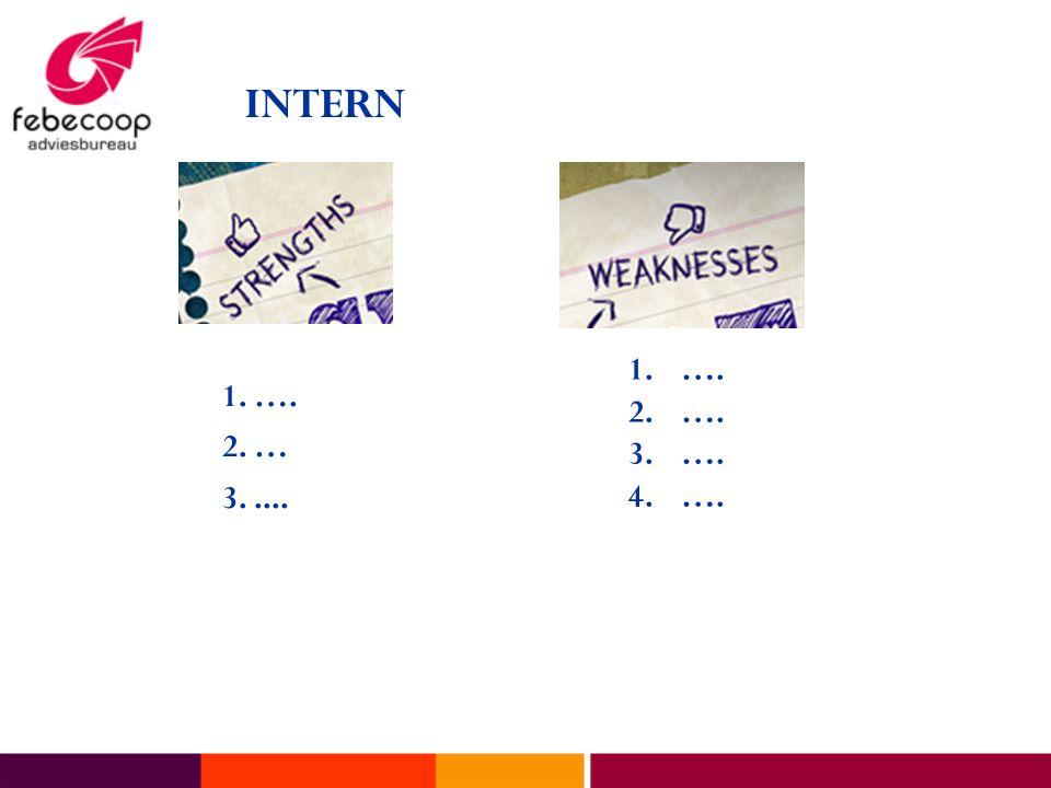 INTERN 1. …. 2. … 3. .... ….