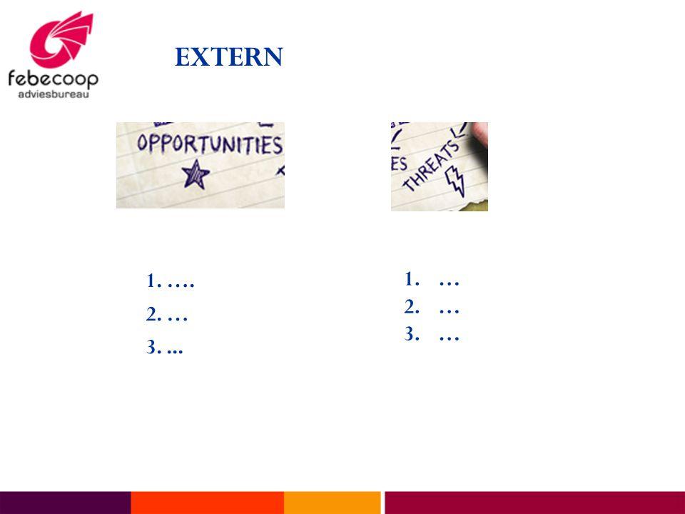 EXTERN 1. …. 2. … 3. ... …