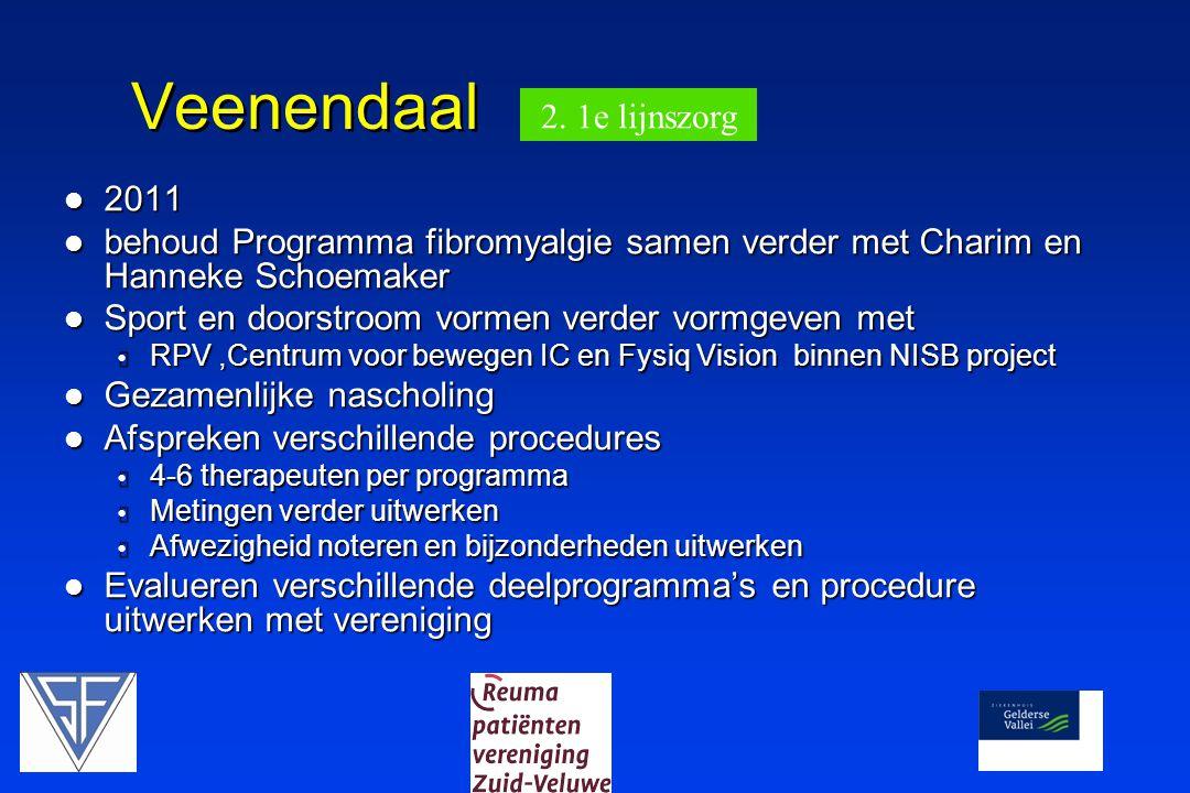 Veenendaal 2. 1e lijnszorg 2011
