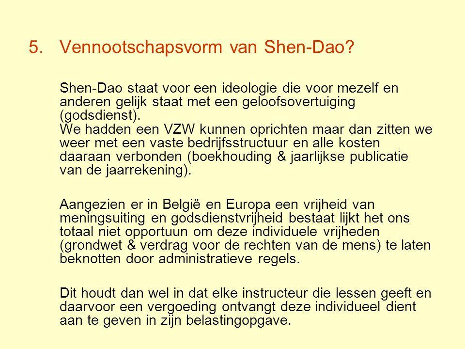Vennootschapsvorm van Shen-Dao