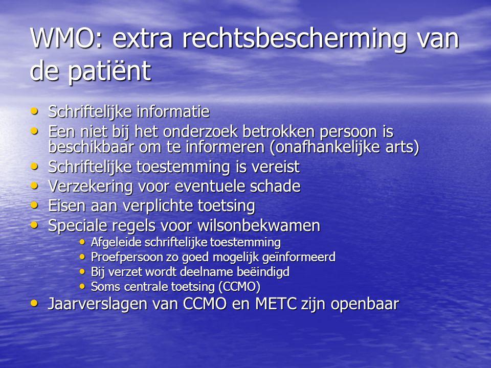 WMO: extra rechtsbescherming van de patiënt