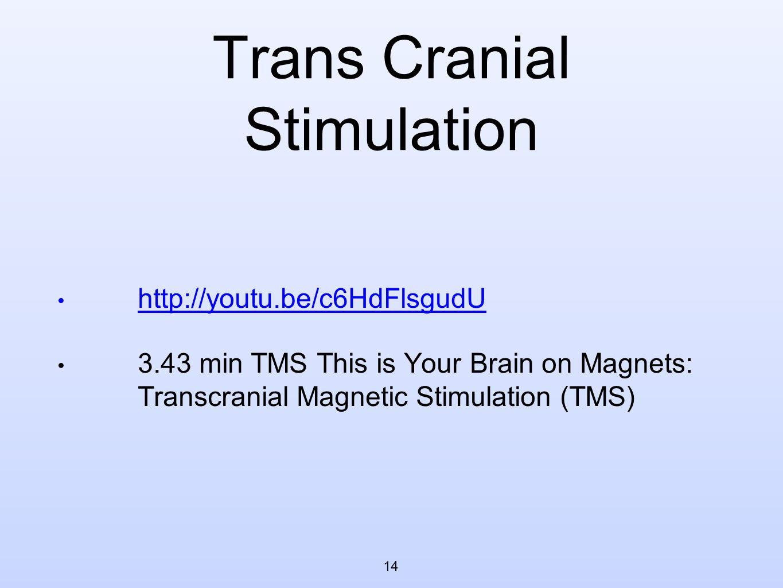 Trans Cranial Stimulation