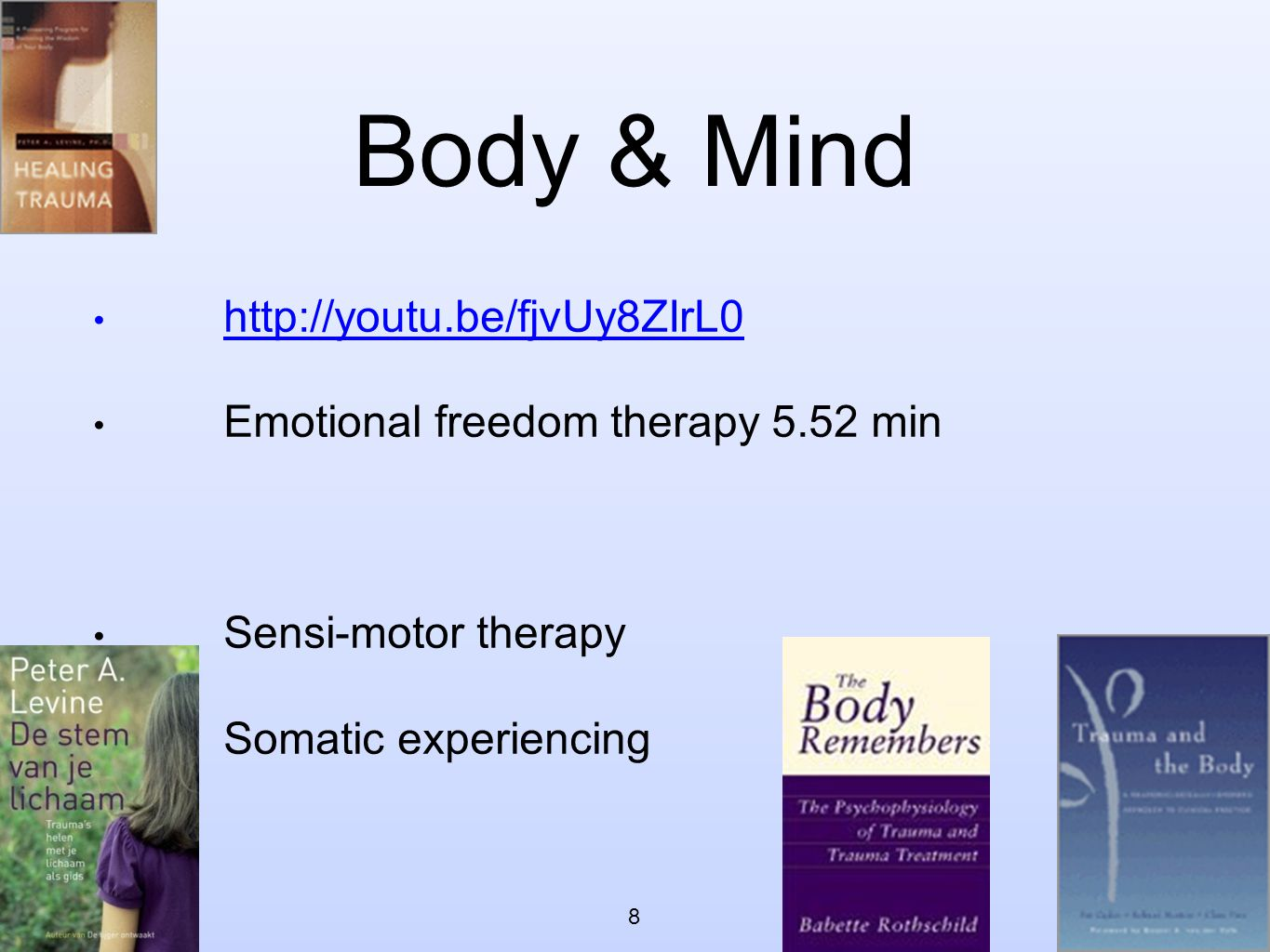 Body & Mind http://youtu.be/fjvUy8ZIrL0