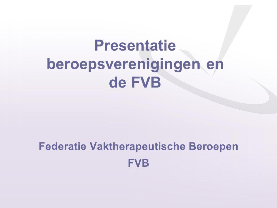 Federatie Vaktherapeutische Beroepen FVB