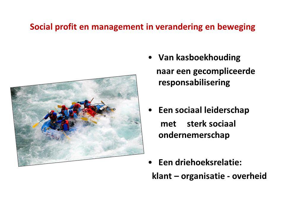 Social profit en management in verandering en beweging