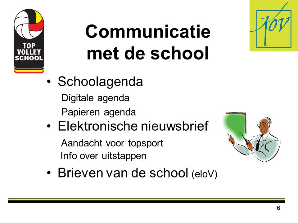 Communicatie met de school